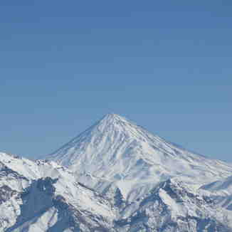 damavand from kolakchal, Mount Damavand