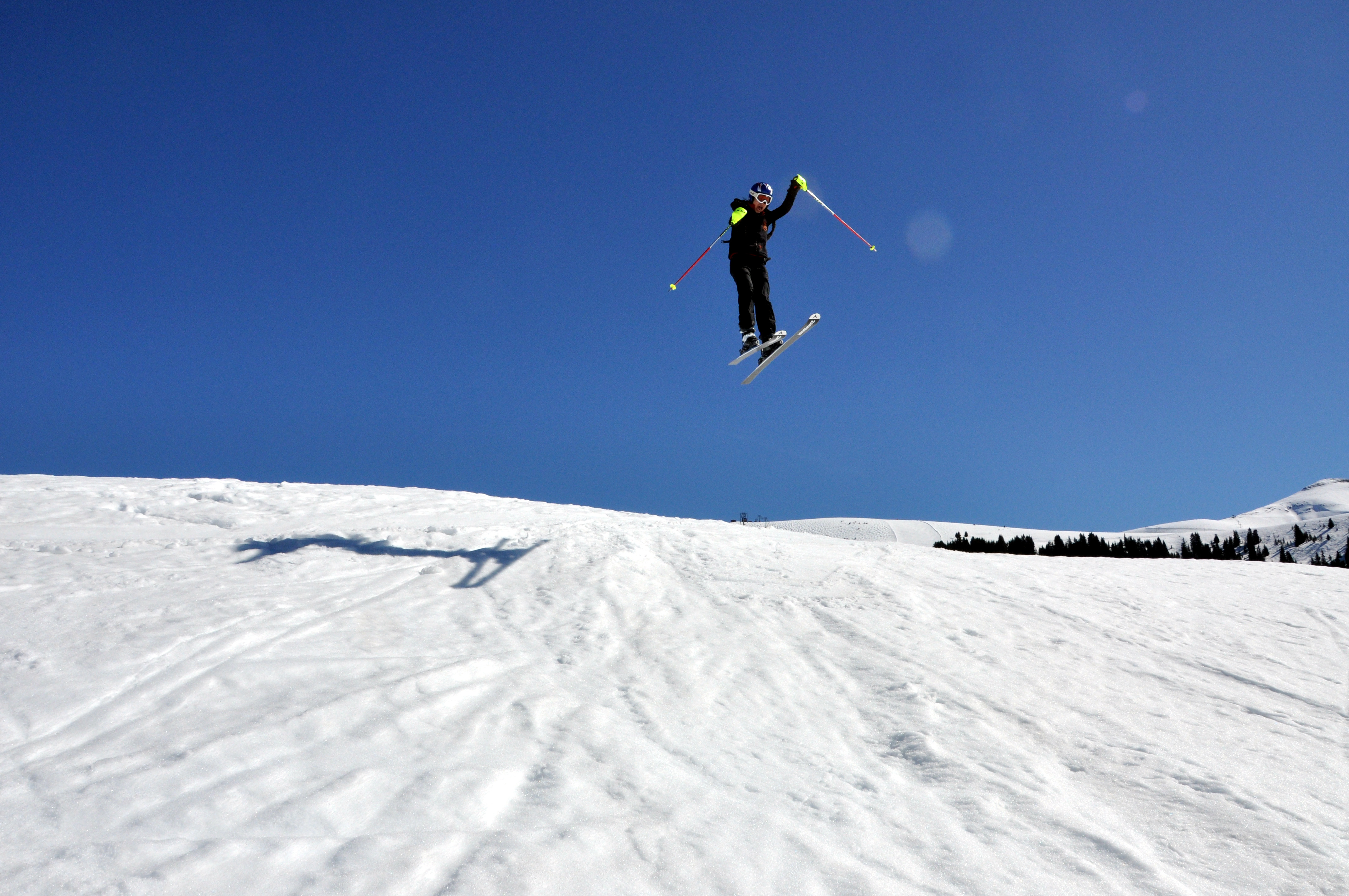 Even Thi Loan was surprised by her jump, Saint Gervais