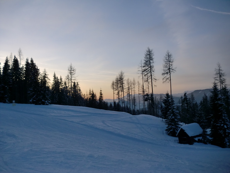 Sunset in Schladming
