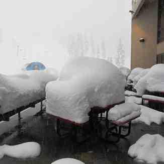 Deep Snow, Mt Bachelor