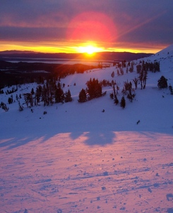 Sunrise, Mt Bachelor photo