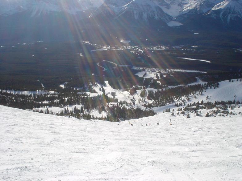 Bit further down flight chutes, Lake Louise