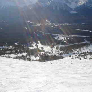 Bit further down flight chutes, Lake Louise