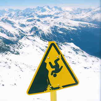 Be careful with the fall !, Val Thorens
