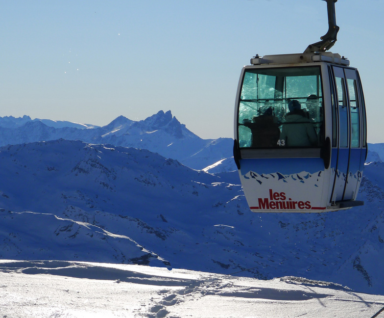 Perfect Day for Skiing and Picture Taking, Les Menuires