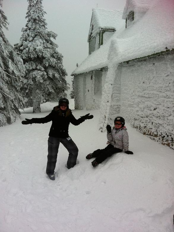 Enjoying the snow!, Mt Spokane Ski and Snowboard Park