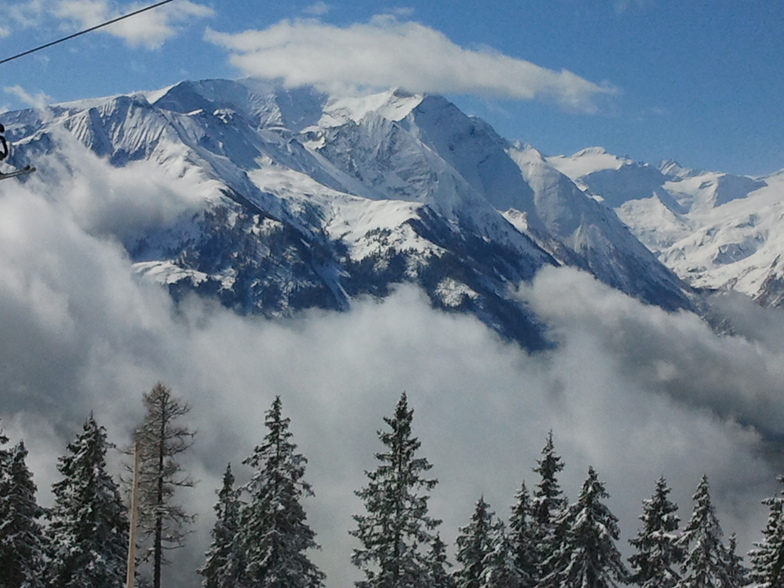 Up above the clouds, Zell am See