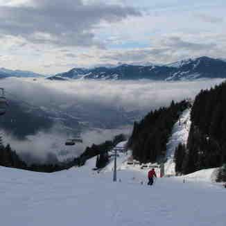 last run in the day, St Johann-Alpendorf