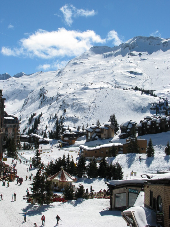 view from the appartment, Avoriaz