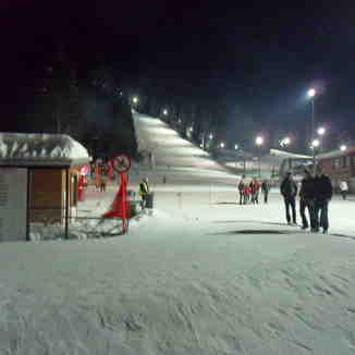 night skiing, Borovets