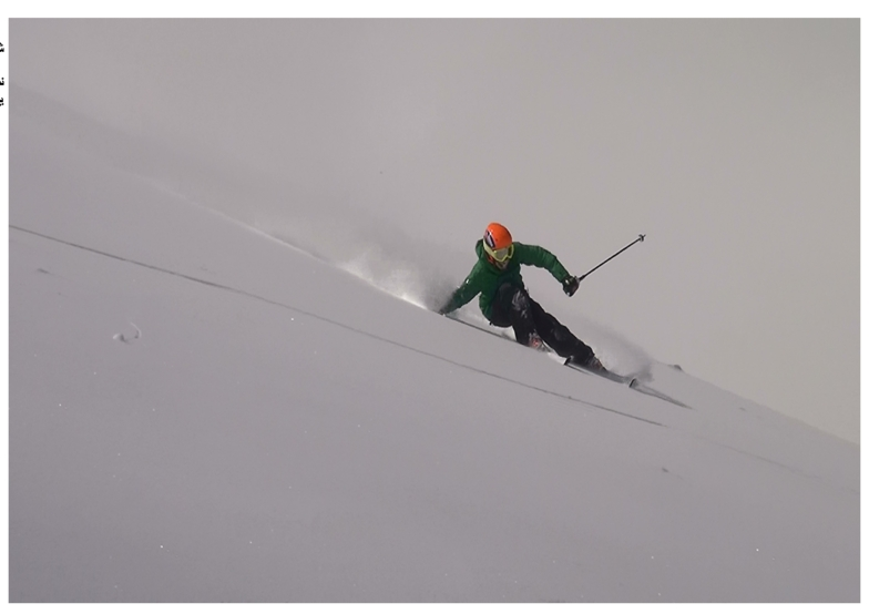 Enjoy the powder and steep, Tochal