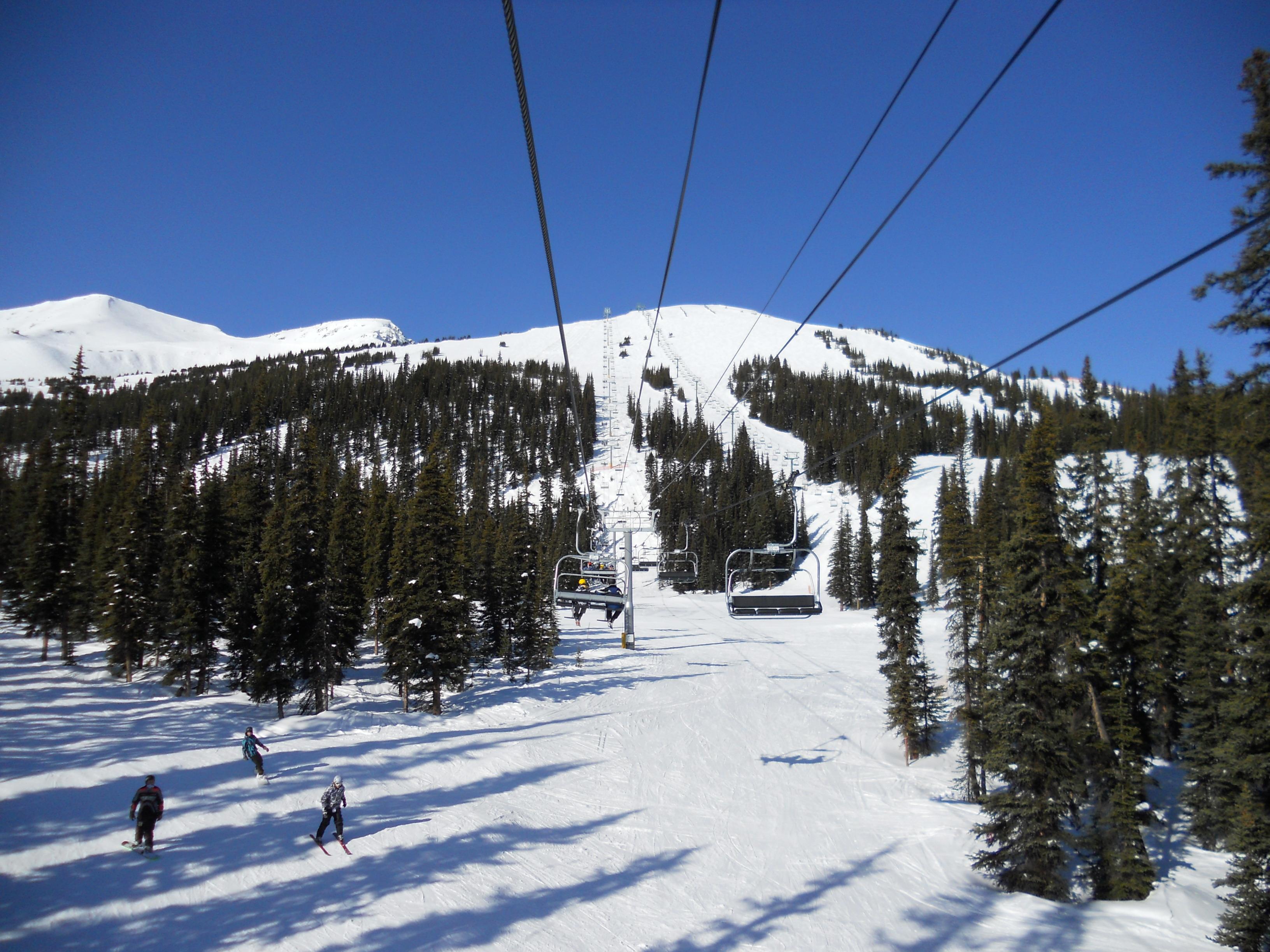 Canadian Express Chair, Marmot Basin