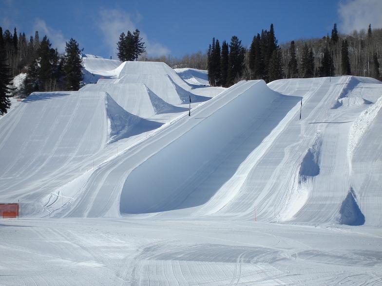 Buttermilk snow