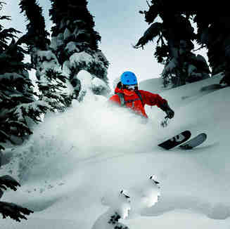 Powder Turn, Whistler Blackcomb