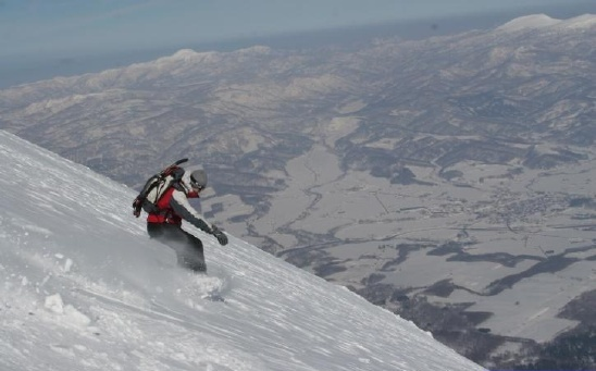 Mt Yotei climb. Niseko, Niseko Grand Hirafu