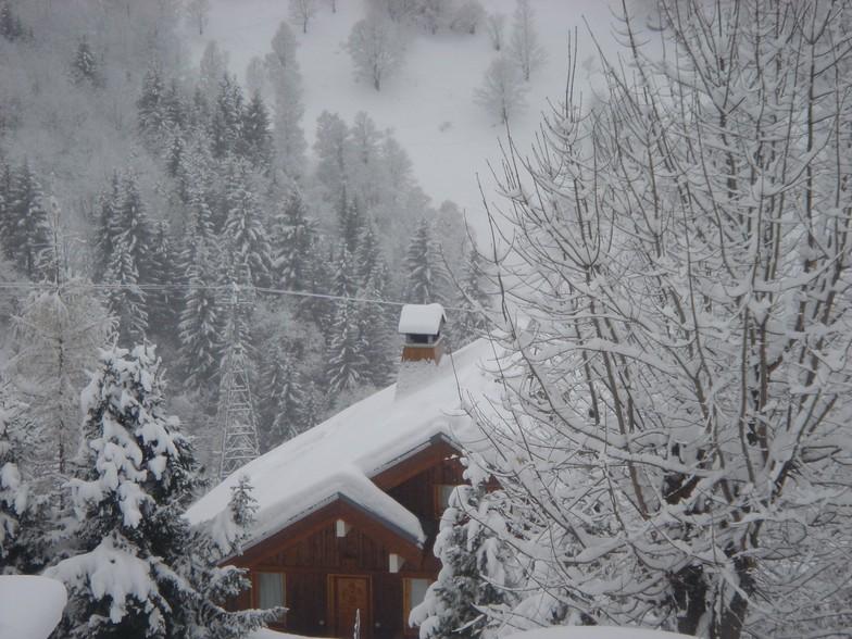 Fresh Snow in Meribel, Méribel
