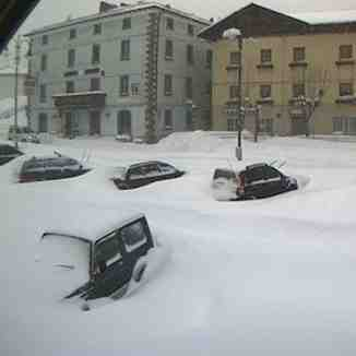 Snow in Frassinoro Piandelagotti