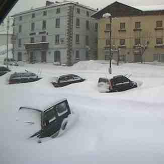 Snow in Frassinoro Piandelagotti