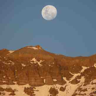 Spring Moon, Valle Nevado