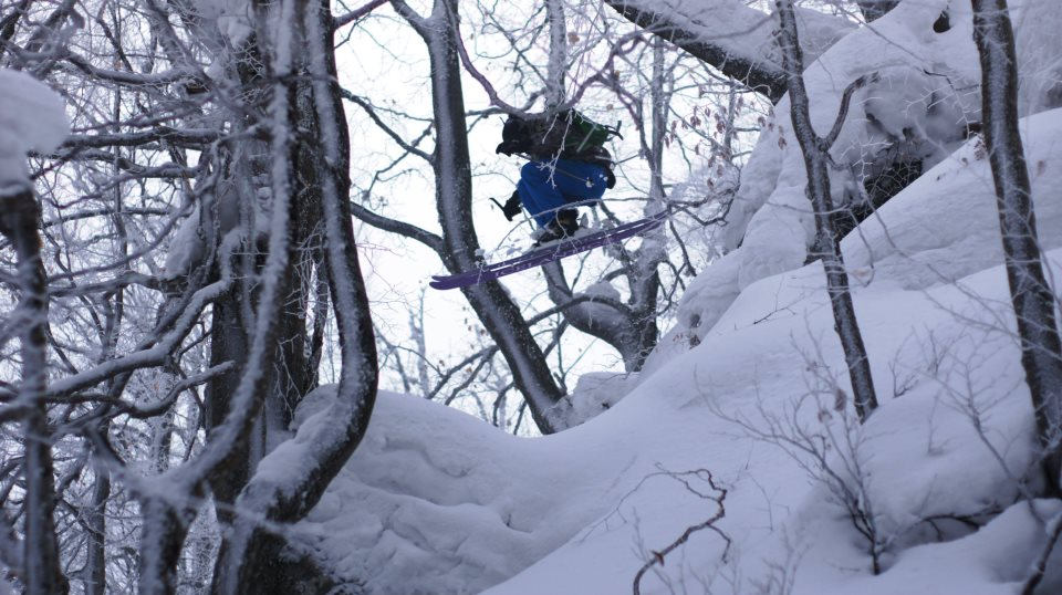 """Tree skiing in Podobovets, We call that place """"Magic Forest"""":-)))"""
