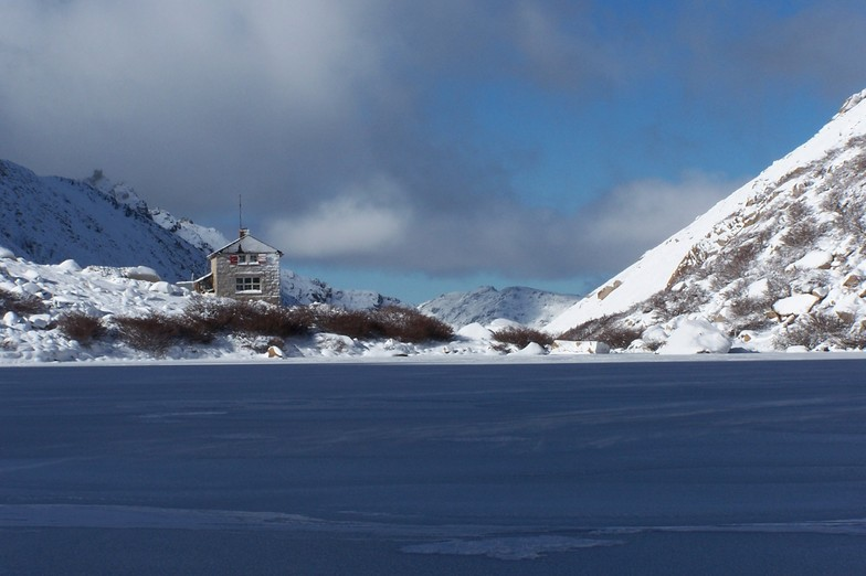 Refugio Frey con FreshTracks, Cerro Catedral