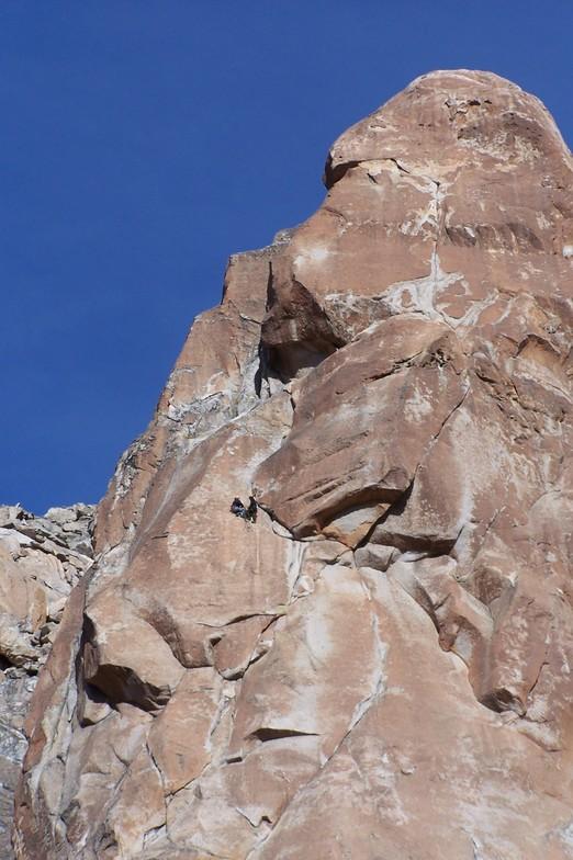 Escalada en Frey FreshTracks, Cerro Catedral