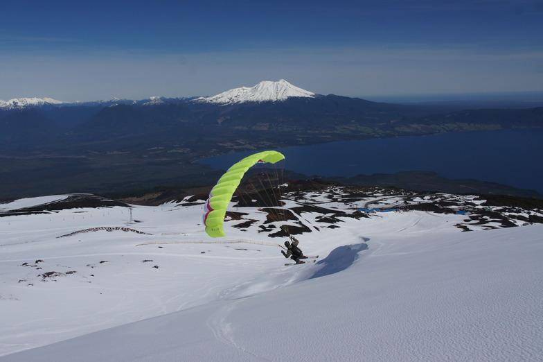 Super Piedraman, Volcán Osorno