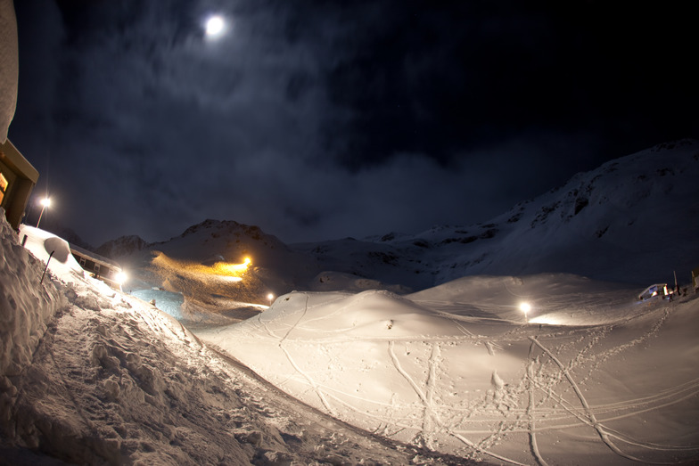 Temple Basin at Night