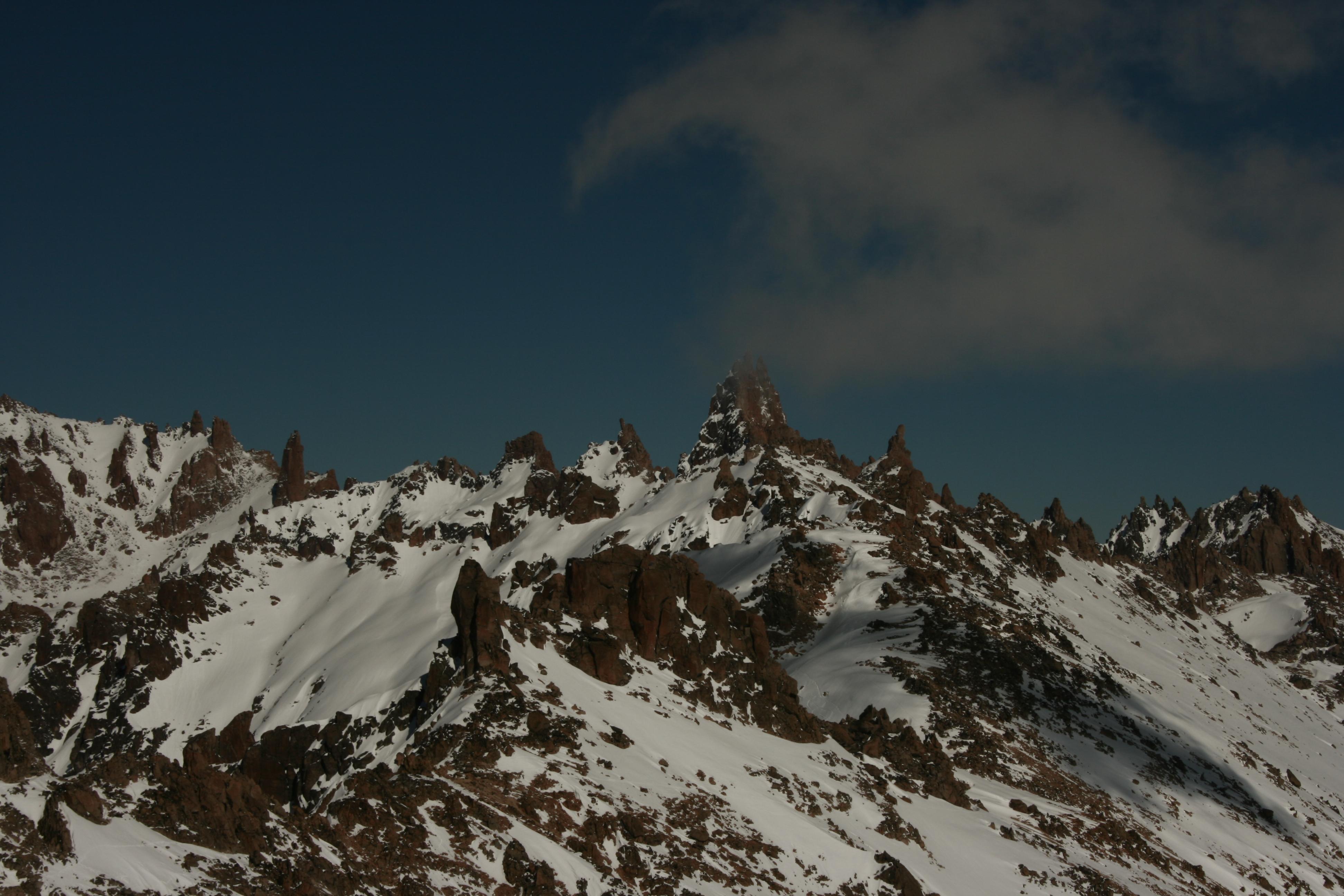 Nevada en Frey con FreshTracks, Cerro Catedral