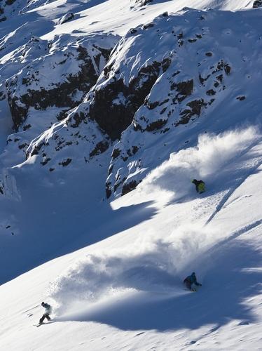 Temple Basin Ski Resort by: Martin Toon