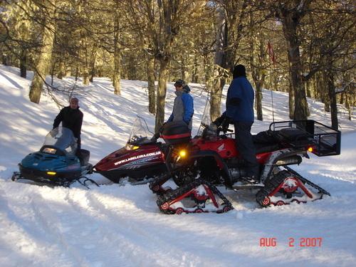 Motos en Chapelco