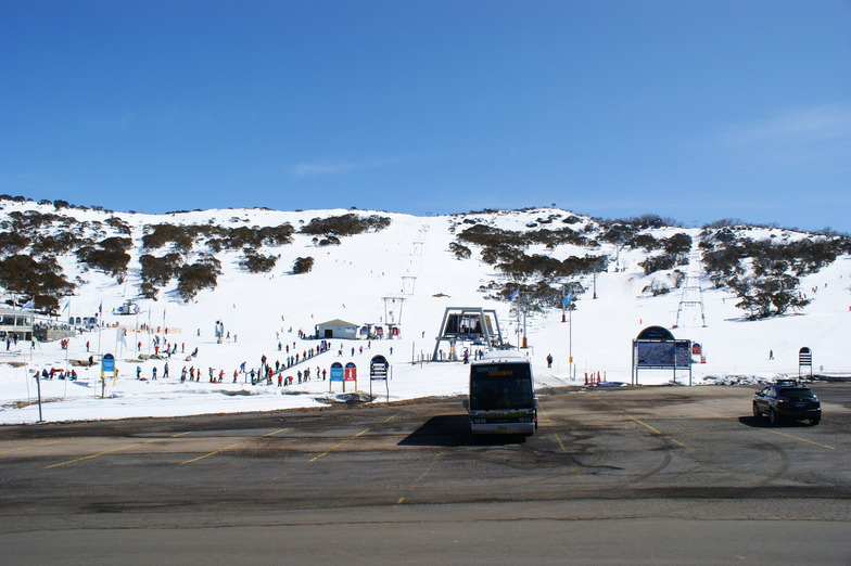 Great View from Mountain View Chalet, Perisher