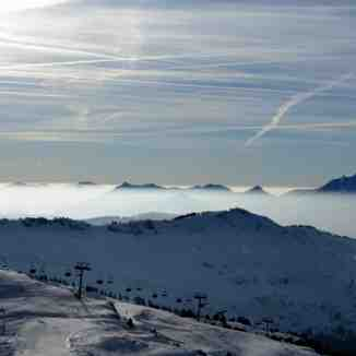 Chatel, on top of Pre La Joux