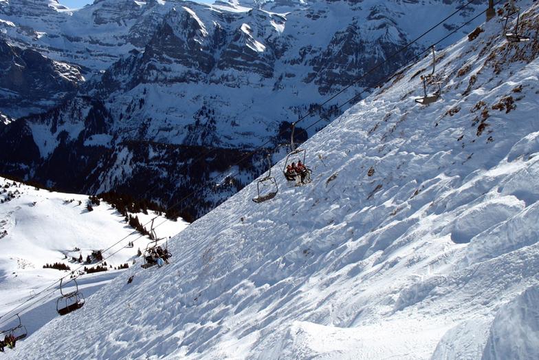 Swiss Wall, Avoriaz