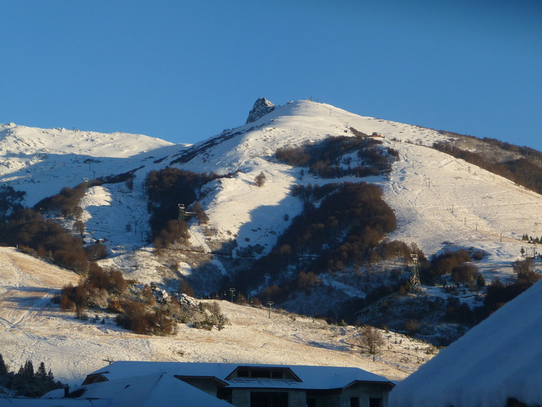 Views of Cerro Catedral from Galileo Boutique Hotel