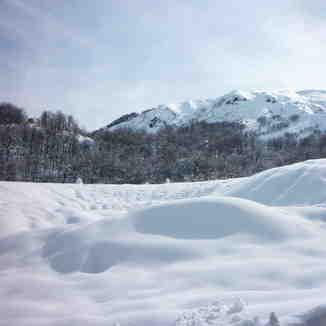 Camino a Termas de Chillán, Nevados de Chillan