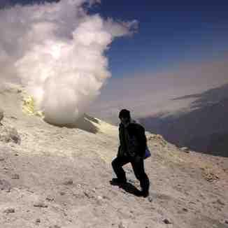 صعود به قله دماوند توسط گروه خورشیدی 16/04/1391, Mount Damavand