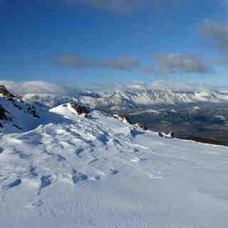 Perito Moreno Snow: Nuevamente El plateau