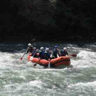 Rafting the Dranse, La Chapelle d'Abondance
