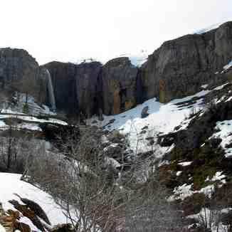 The Waterfall Of Faraya,spring (LEBANON), Mzaar Ski Resort