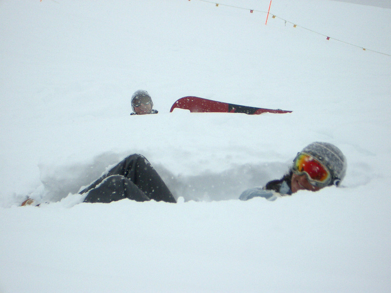 How much snow? Verbier 2005