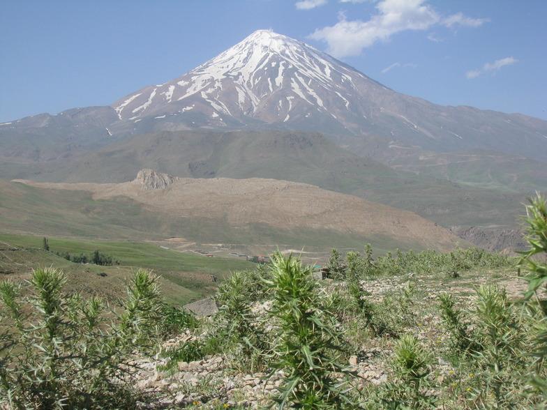 damavand peak, Mount Damavand