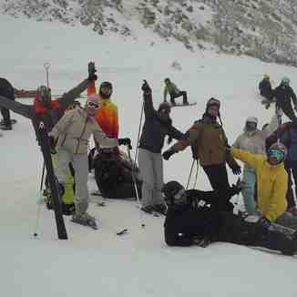 Diversión en la nieve, La Hoya