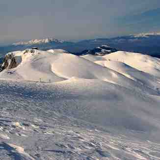 Mount Falakro Greece from top, Falakro Ski Resort
