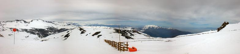 Topo do Valle Del Inca, Valle Nevado