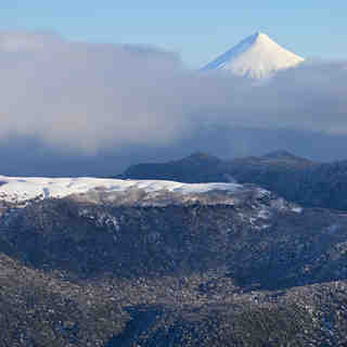 Osorno Volcano, from Antillanca
