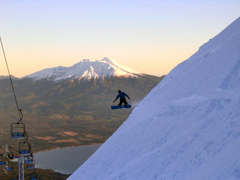 Volcán Calbuco desde Volcán Osorno, Antillanca