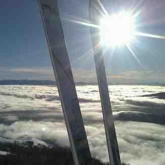Mar de nubes, Cerro Catedral