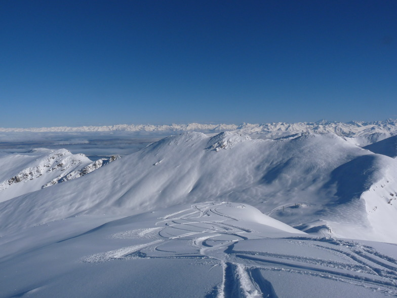 West Ridge, from East Ridge, Mount Dobson