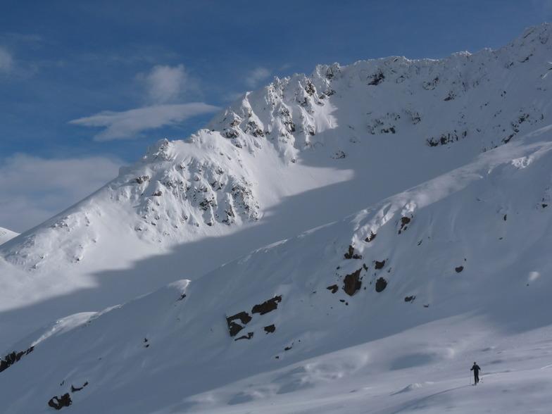 Fox Peak snow